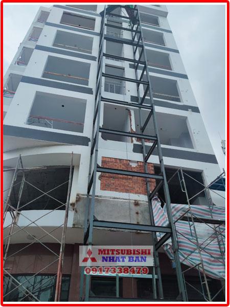 lắp đặt thang máy khách sạn