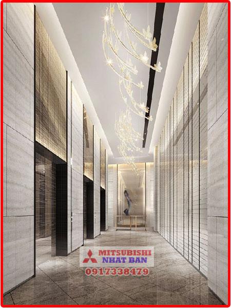 chọn kích thước thang máy khách sạn