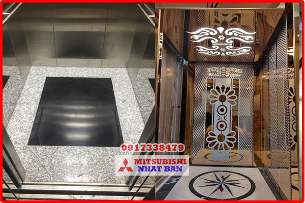 chọn vật liệu sàn thang máy