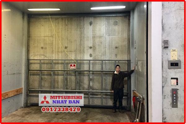 kích thước thang máy tải hàng