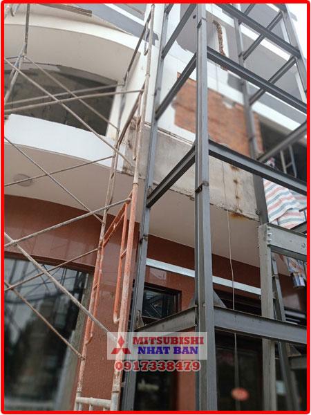 lắp thêm thang máy cho nhà phố