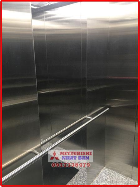 tay vịn thang máy