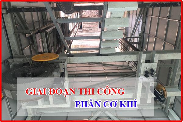 thời gian lắp thang máy