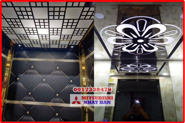 vật liệu trần thang máy