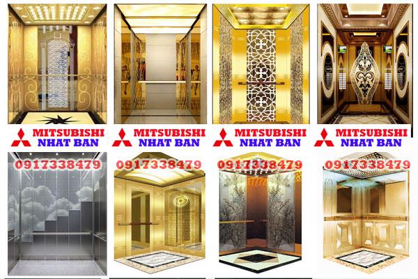 khung cabin thang máy Mitsubishi liên doanh
