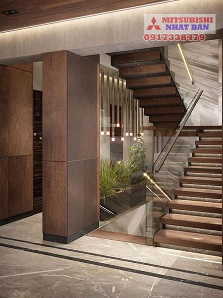 kinh nghiệm mua thang máy gia đình Mitsubishi