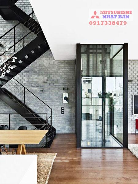 mua thang máy gia đình Mitsubishi liên doanh ở đâu?