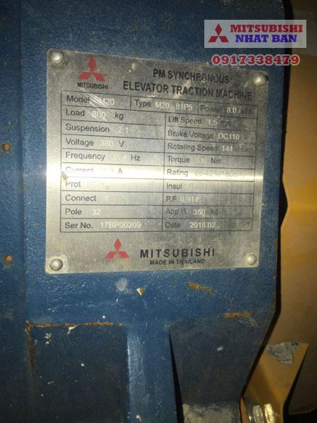 thang máy mitsubishi và thang máy hitachi