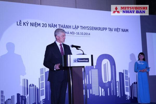 thang máy thyssenkrupp Việt Nam