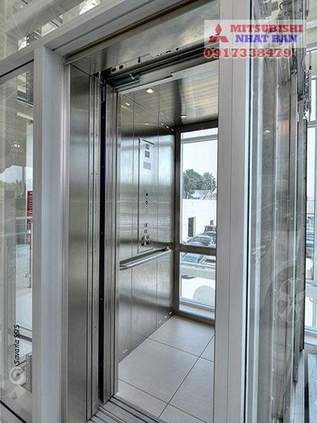 thiết kế nội thất thang máy 630kg