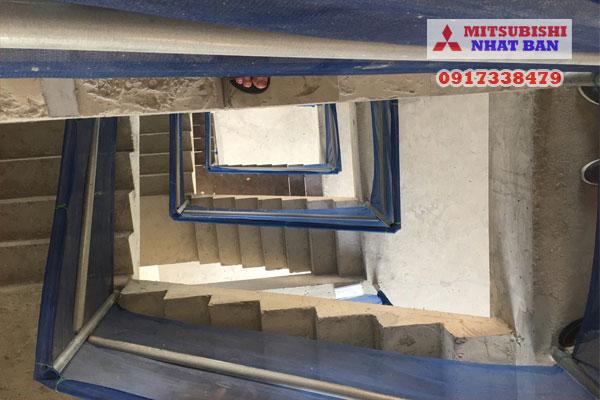 vị trí giữa cầu thang