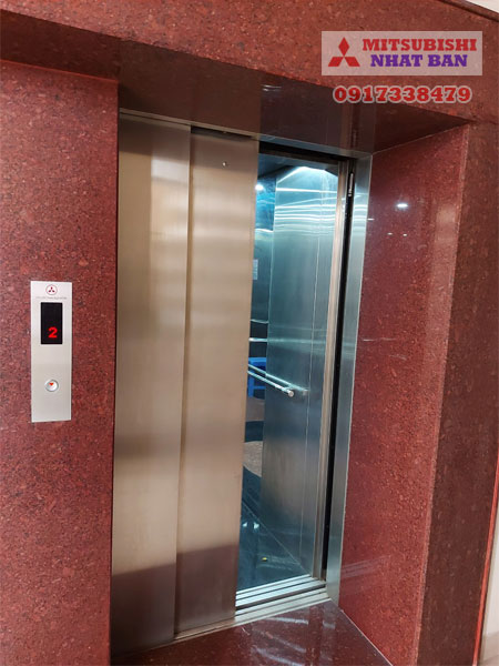 tải trọng thang máy tòa nhà văn phòng