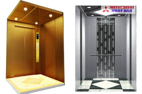 thiết kế cabin thang máy
