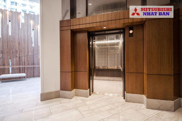 thiết kế sảnh thang máy