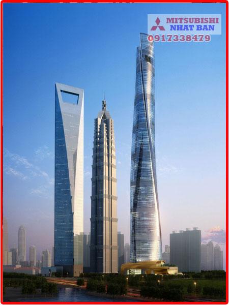 tốc độ thang máy tòa nhà shanghai Tower