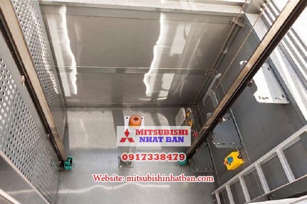 cấu tạo hố pit thang máy thông thường
