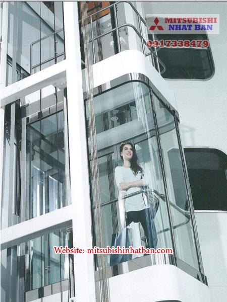 thang máy quan sát cho tòa nhà