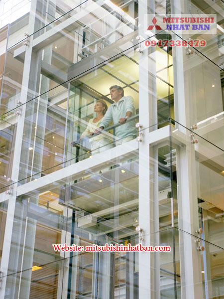 thang máy quan sát cho trung tâm thương mại