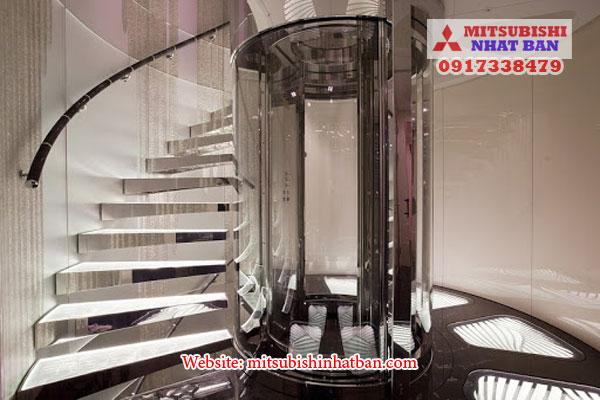 diện tích tối thiểu thang máy là bao nhiêu