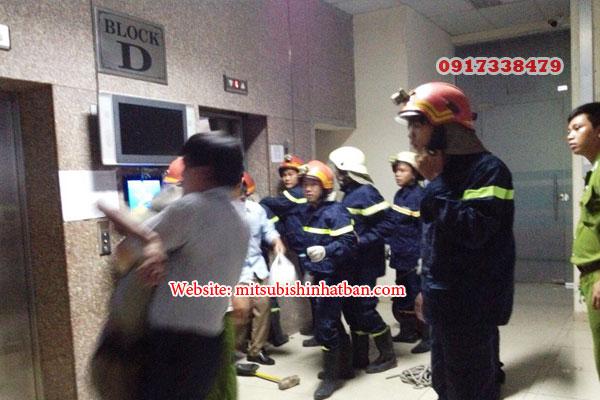 thang máy chữa cháy