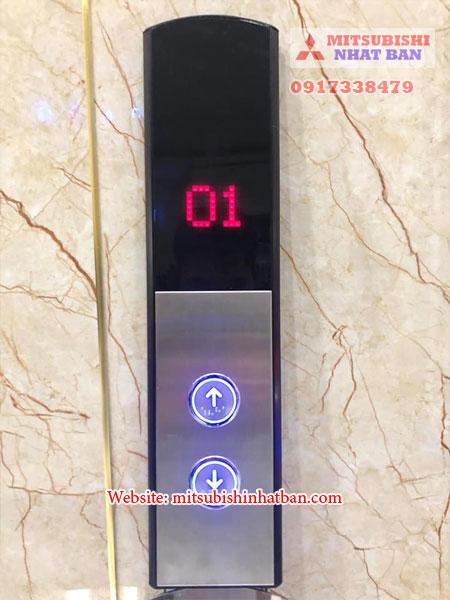 Mẫu nút bấm thang máy nằm ngoài cabin
