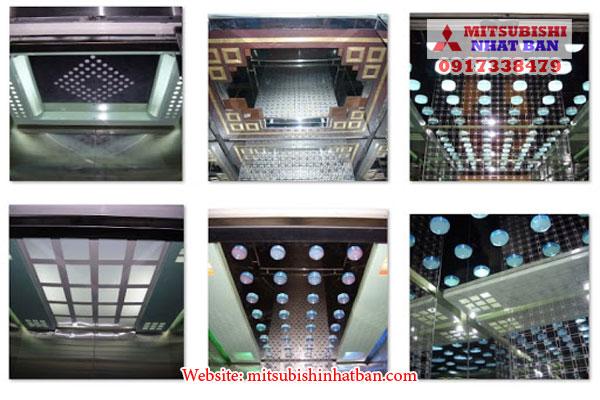 trần cabin thang máy