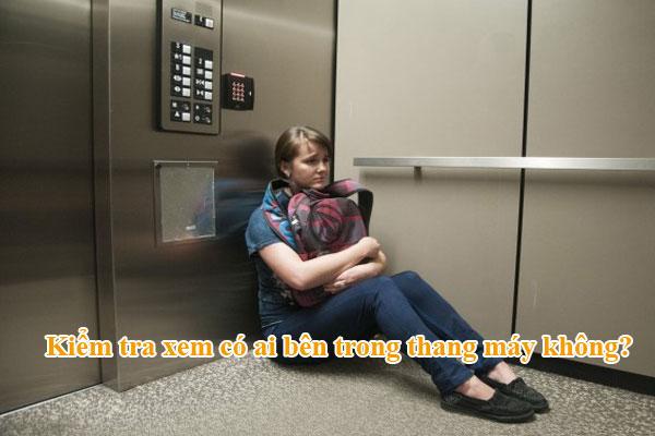 làm gì khi không sử dụng thang máy 1